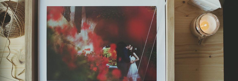 Album di nozze che fanno tendenza: il luxury album di design