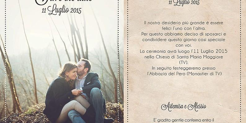 Partecipazioni Matrimonio Fotografiche.Save The Date Le Partecipazioni Di Matrimonio Con Foto Blog