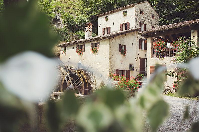Sposarsi a Treviso all'aperto: Molinetto della Croda