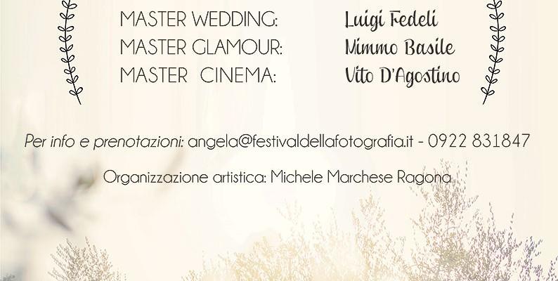 13-14-15 aprile Master presso Festival della Fotografia Sicilia