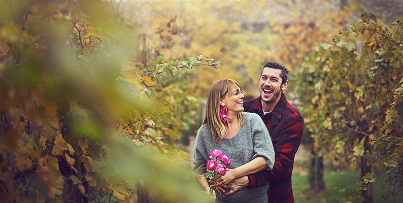Foto gravidanza al Mulino Rosa Rosae – novembre