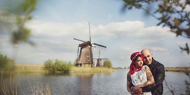 Engagement destination – Olanda, terra di mulini e tulipani
