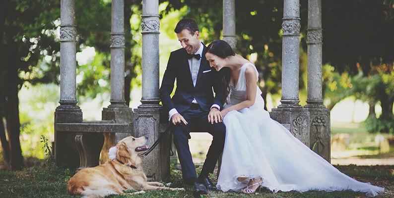 Il matrimonio con il vostro cane