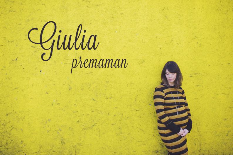 Premaman Giulia e Paolo