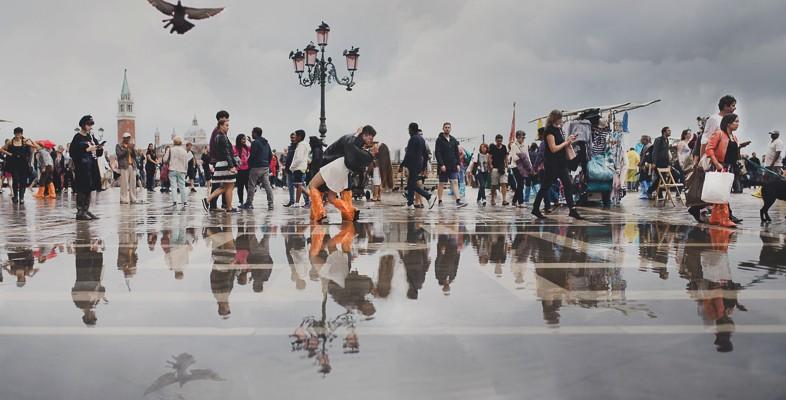 Ilaria e Marco, Venezia con l'acqua alta