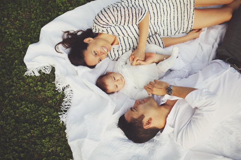 Giorgia e la sua famiglia