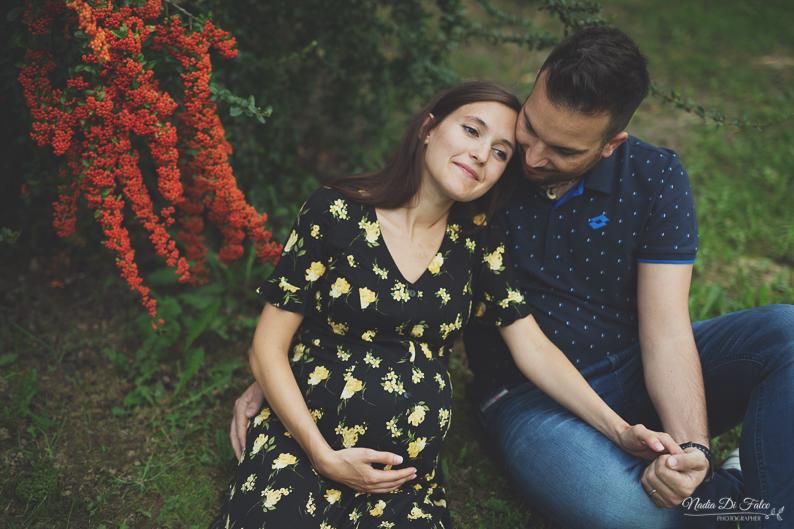 Servizio foto gravidanza tra i meli e le bacche – settembre