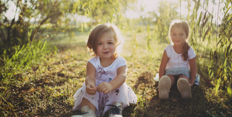 Foto di famiglia per Alessia e le sue bimbe – settembre