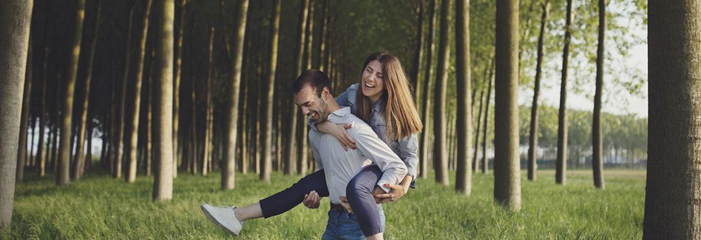 Servizio fotografico di coppia per l'anniversario di nozze – Aprile