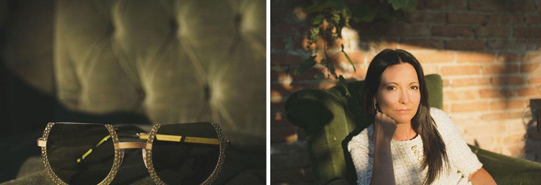 Elena e i suoi occhiali – Foto per aziende Venezia