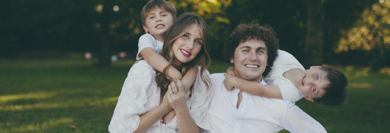 Ritratto di famiglia dal sapore Provenzale