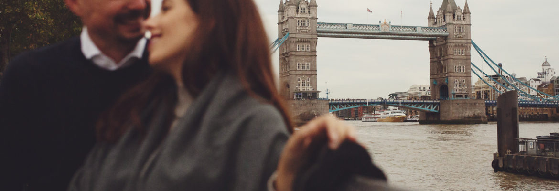 Francesca e Nicolas – premaman a Londra
